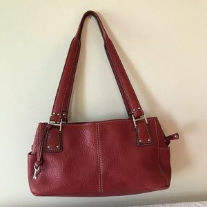 Fossil Red Handbag with hangtag